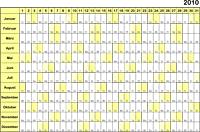 kalender monate drucken
